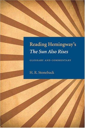the sun also rises essay questions The sun also rises essays: over 180,000 the sun also rises essays, the sun also rises term papers, the sun also rises research paper, book reports 184.
