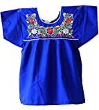 Leos Imports Women's Mexican Peasant Puebla Blouse