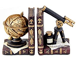 Decorative Bookends Galileo Astronomy Book Ends