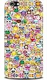 Huawei Y3 - Emoji Smileys Silikon Schutz-Hülle weiche
