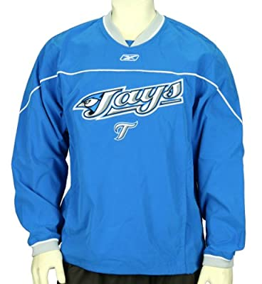Toronto Blue Jays MLB Mens Leadoff Hot Jacket, Blue