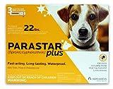 Novartis Parastar Plus Flea and Tick Control for Dogs, 4- to 22-Pound, Orange