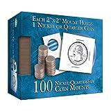 Nickel-Quarter 2x2 Mylar Protective Coin...