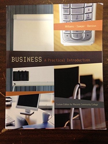 Business: A Practical Introduction (Custom Edition for Macomb Community College)