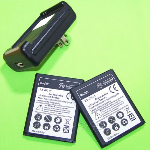 Click to buy 2x 2650mAh Li-ion Battery For Samsung ATIV Odyssey,SCH-I930 (Verizon) + Travel Charger - From only $19.79