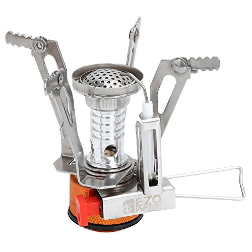 EZOWare Portable LightWeight Mini Outdoor Backpacking Camping Stove Burner Cookware (Rv Oven Propane compare prices)