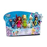 Disney Tinkerbell And The Secret Of The Wings 4 Figure Doll Set
