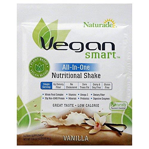 Naturade Vegansmart All-In-One Nutritional Shake, Vanilla, 1.51 Ounce