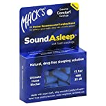 Macks Earplugs, SoundAsleep, Soft Foam, 12 pair