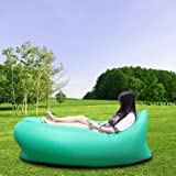 Handcuffs Outdoor Inflatable Camping Sofa/ Air Sleeping Bed Laybag Sofa