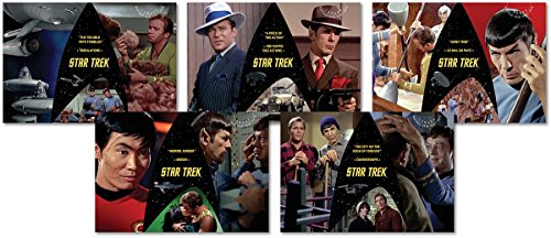 Star Trek 50th Anniversary - Set of 5 Collectible Postcards Canada (Canada Post compare prices)
