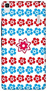 The Racoon Grip Flora Love hard plastic printed back case / cover for Lenovo A7000