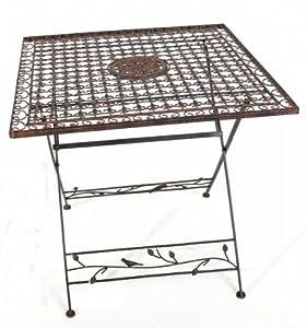 gartentisch avis 80 x 80 tisch metall klappbar. Black Bedroom Furniture Sets. Home Design Ideas