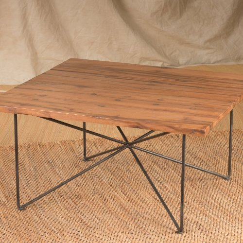 Reclaimed Wire & Wood Coffee Table