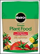 Miracle-Gro 1000441 Water Soluble Tomato Plant Food, 3-Pound (Tomato Fertilizer)