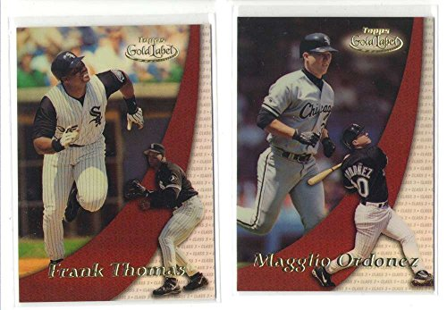 2000 Topps Gold Label Class 3 - CHICAGO WHITE SOX Team Set 2000 Topps Gold Label