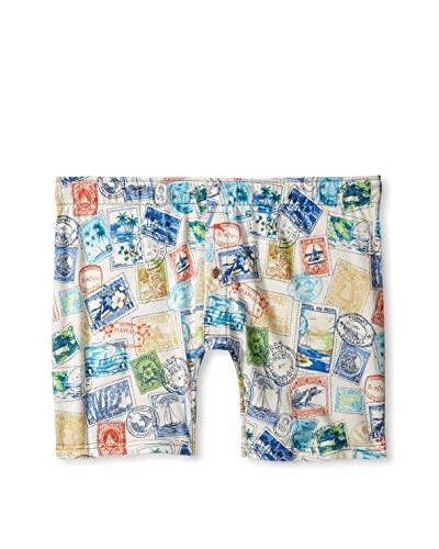 Tommy Bahama Men's Printed Modal Jersey Boxer