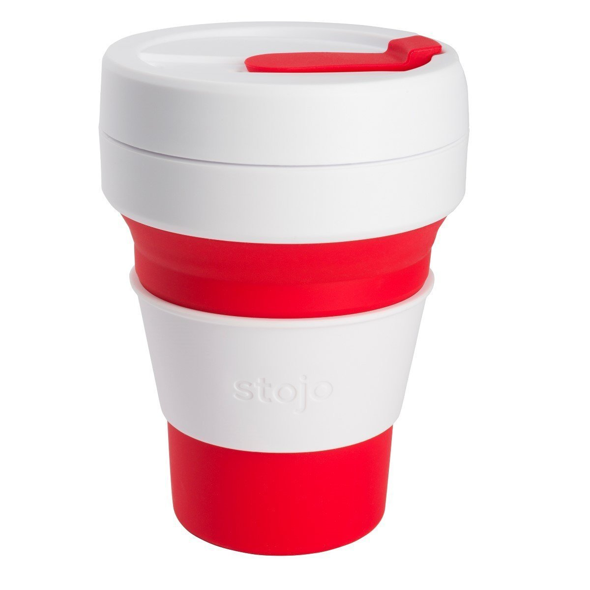 Galleon Stojo Collapsible Cup Silicone Travel Mug