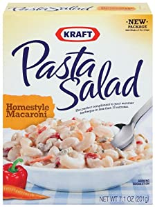 Kraft Pasta Salad, HomeStyle Macaroni, 7.1-Ounce Boxes (Pack of 6)