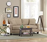 SoFab Coco 1285 Beige Apartment-Sized Sofa