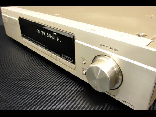 SONY ソニー ST-SA50ES FM AMステレオチューナー (FM AMラジオチューナー)