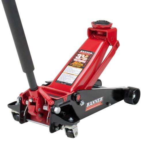 Blackhawk B6350 Black/Red Fast Lift Service Jack - 3.5 Ton Capacity (Professional Auto Floor Jack compare prices)