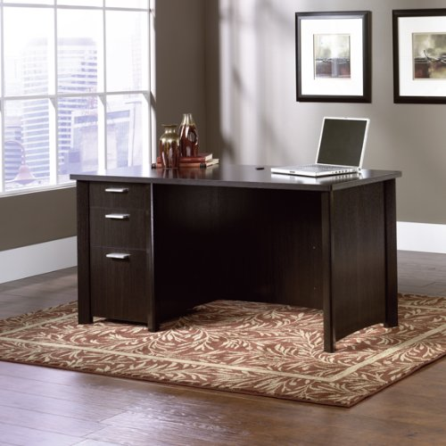 Buy Low Price Comfortable Computer Desk – Wind Oak Finish (B005MLMT9C)