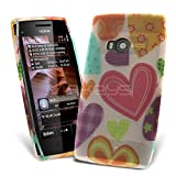 Celicious Heart Art Designer TPU Gel Case for Nokia X7 X7-00 Nokia X7-00 Case Cover