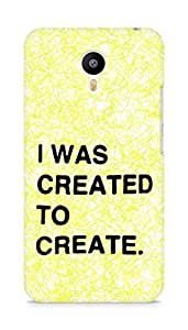 AMEZ i was created to create Back Cover For Meizum 2 Note