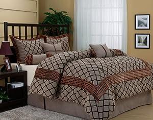 Nanshing America Dawn 7-Piece Deluxe Luxury Comforter Set, King at Sears.com