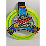 Air Max Flex Grip Ring Flyer Yellow Frisbee Round Flying Disc Toy