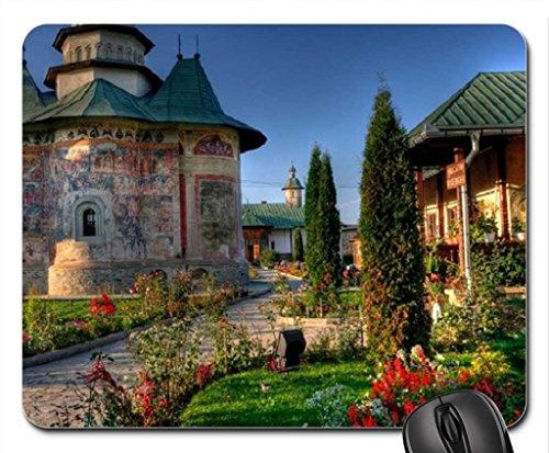 monastery-from-buco-vina-romania-mouse-pad-tapis-de-souris-mouse-pad-religieuse