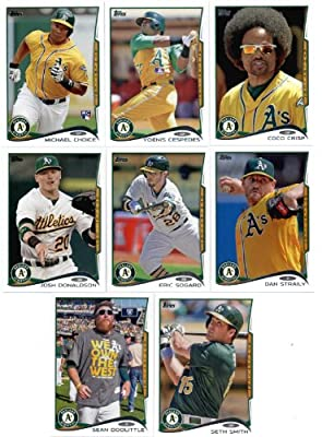 2012, 2013 & 2014 Topps Oakland Athletics Baseball Card Team Sets (Complete Series 1 & 2 From All Three Years )