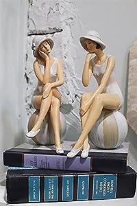 Amazon.com - Resin Style Bathing Beauties SET OF 2 Style ...
