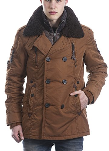 Khujo Jason with inner Jacket Herren Herbst Winter Parka Mantel Jacke