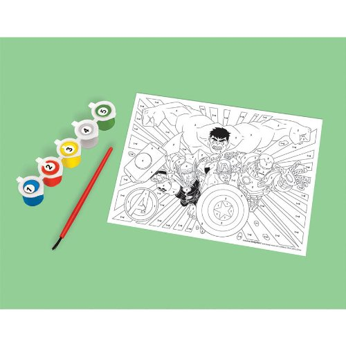 PAINT BY NUMBERS AVENGERS (1 per package) - 1