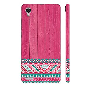 Enthopia Designer Hardshell Case Woody Aztec Thirteen Back Cover for Vivo Y31L