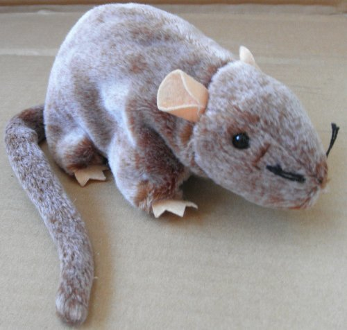 TY Beanie Babies Tiptoe the Mouse Plush Toy Stuffed Animal by Unknown