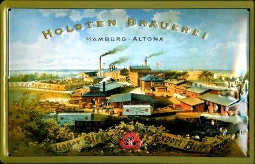 holsten-brasserie-hamburg-altona-rahmenlos-plaque-en-tole-metallique-metal-sign-tin-20-x-30-cm