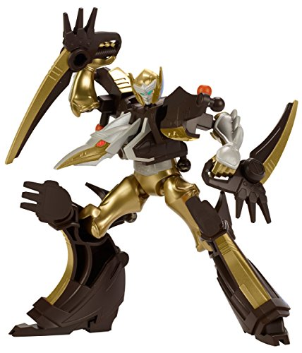 Power Rangers - Mixx N Morph Dino Gold Ranger and Ptera Charge Megazord Action Figure Pack (Golden Power Ranger compare prices)