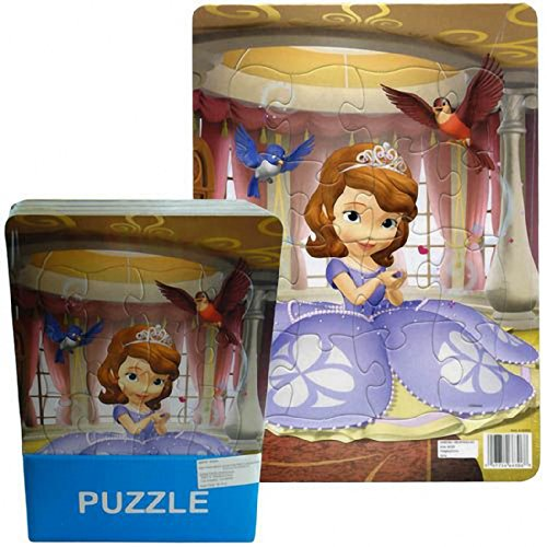 Disney Sofia the First 16 Piece Jigsaw Puzzle - 1