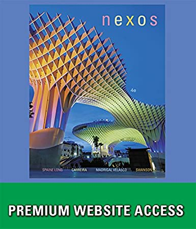 Premium Website for Long/Carreira/Velasco/Swanson's Nexos, 4th Edition