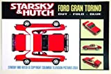 Starsky & Hutch Ford Gran Torino Cut-Fold-Glue Poster - Lithograph 11 x 17 inches
