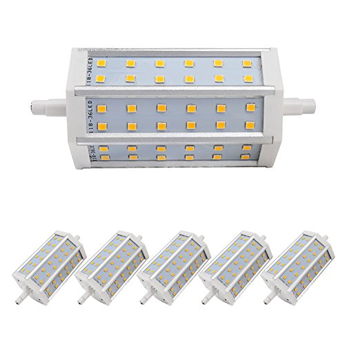 6X Light Warm White Smd 2835 Low Consumption 630Lm Ac 85-265 Ligthing Bulb 7W R7S Led Non-Dimmable