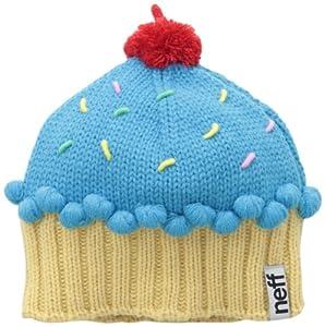 Neff Women's Cupcake Beanie Hat, Blue, One Size
