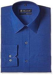 Hancock Men's Formal Shirt (4502Royal Blue_40)