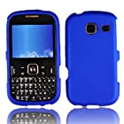 LF 3 in 1 Hard Case Cover, Stylus & Droid Screen Wiper Bundle Accessory For Tracfone Straight Talk Prepaid Cell Phone Samsung S380C (Blue)