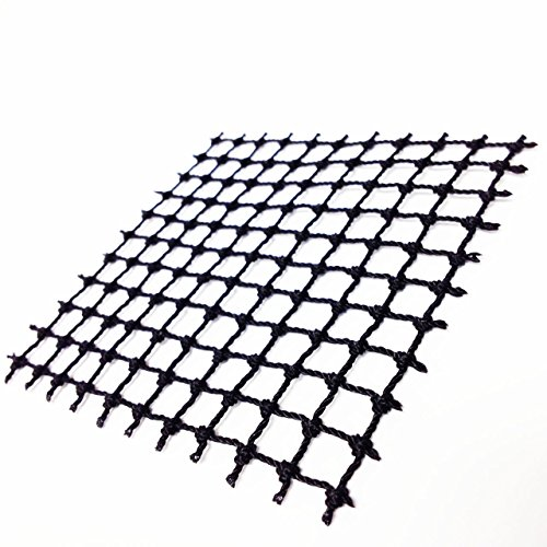 Lego Parts: Black 10 Studs x 10 Studs String Net - Square