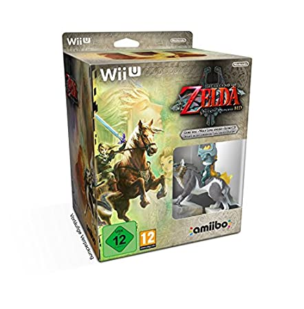 The Legend of Zelda: Twilight Princess HD plus Amiibo plus Soundtrack CD (Nintendo Wii U)