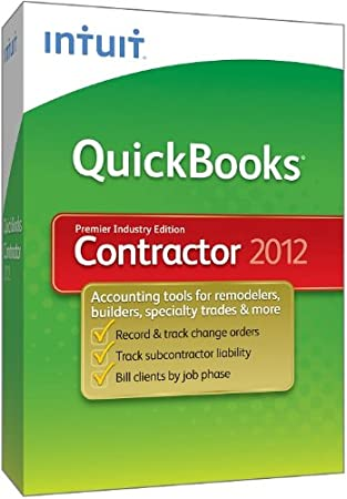 QuickBooks Premier Contractor 2012 [OLD VERSION]